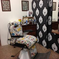 Barbiere a Vicenza, un corner old style