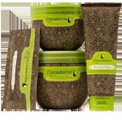 Prodotti con olio di Macadamia, nutriente per i capelli