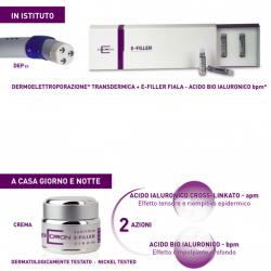 Trattamenti viso a Vicenza: la dermoelettroporazione con l'acido ialuronico
